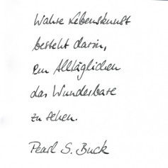Schreibfreude - Handschrift