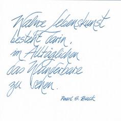 Loe - Handschrift