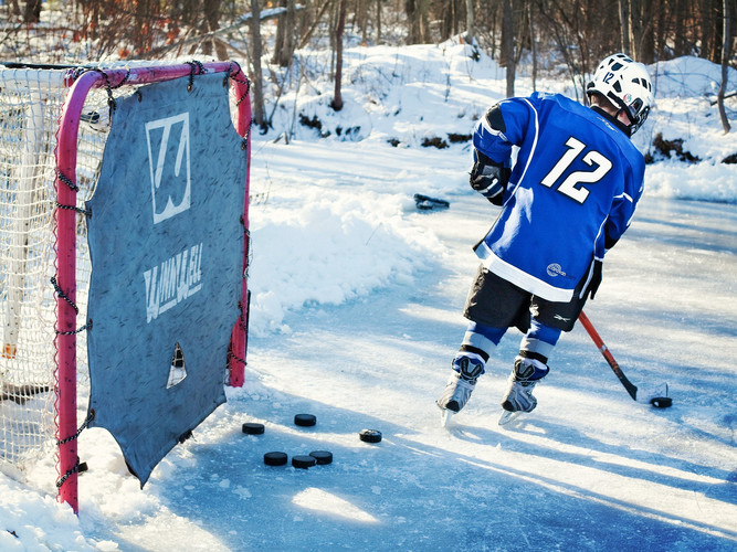 Eishockeyausrüstung