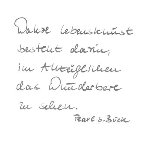 Barbara - Handschrift