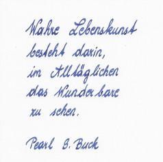 Hortense - Handschrift