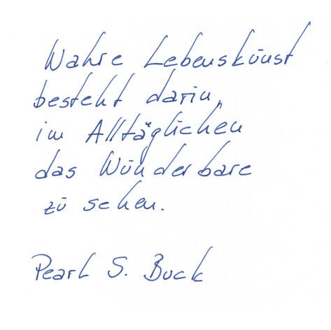 Rosalie - Handschrift