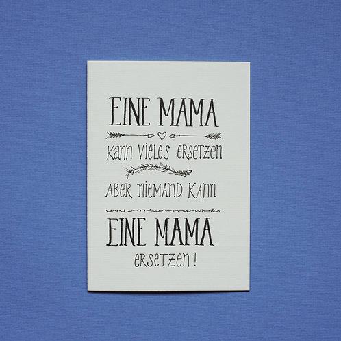 """""""Mama ersetzen"""" - Karte"""