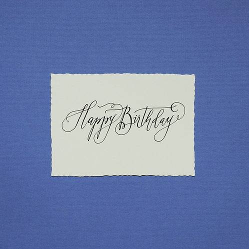 """""""Happy Birthday_3"""" - Karte"""