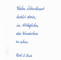 Marie - Handschrift