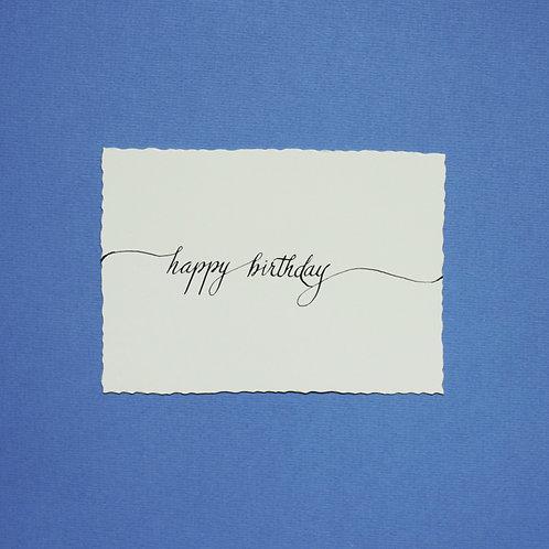 """""""happy birthday_1"""" - Karte"""