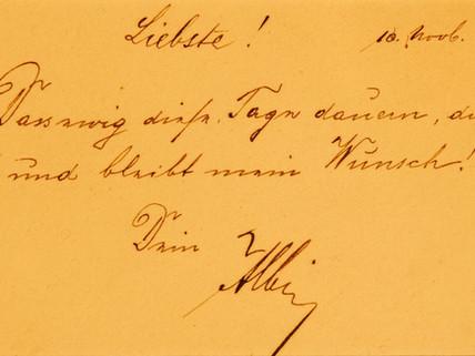 Die eigene Handschrift macht Deine Botschaft unvergesslich!