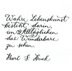 Eve moderne - Handschrift