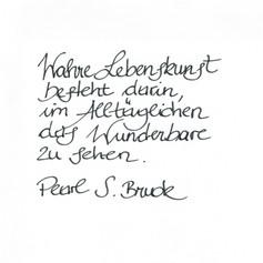 Aurelia - Handschrift