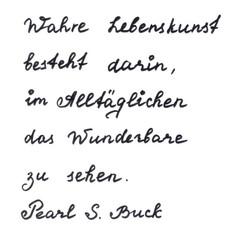 Milenger - Handschrift