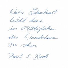 Quirina - Handschrift