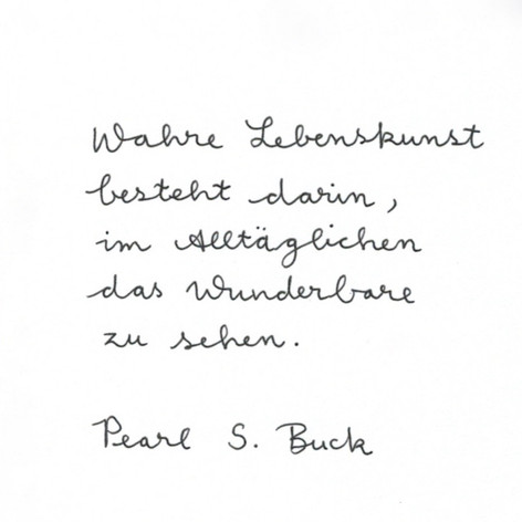 Lena - Handschrift