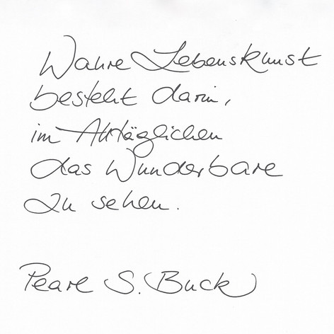 Matilda - Handschrift