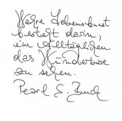 Claudiuccia - Handschrift