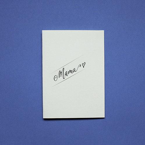 """""""Muttertagkarte"""" - Karte"""