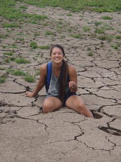 Eagle Lake 2014 Mindy in Marina Mud (3).JPG