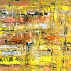 Farbbewegung mit Gelb