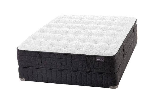 black metal triple sleeper sprung mattress