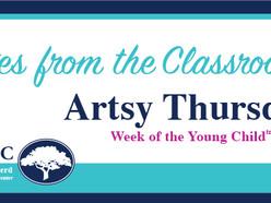 Notes from the Classroom: Artsy Thursday