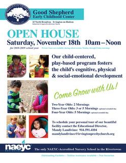 Open House-November 18th