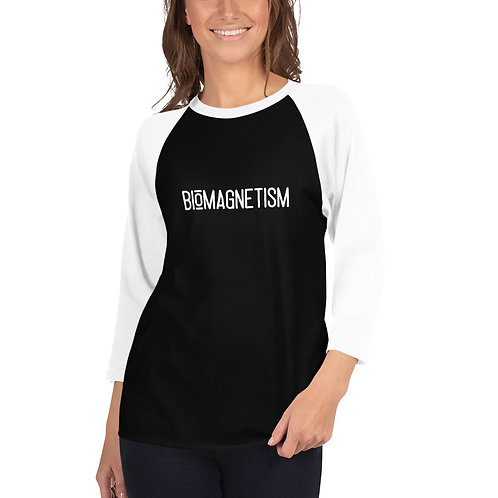 Biomagnetism - 3/4 sleeve raglan shirt