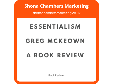 Book review: Are You An Essentialist?