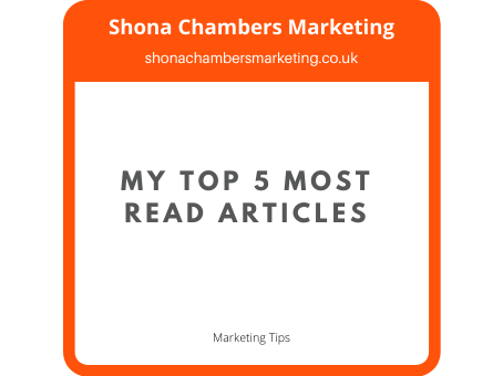 A roundup of my 5 most read marketing blogs