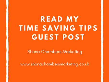 Time Saving Tips for Small Businesses?