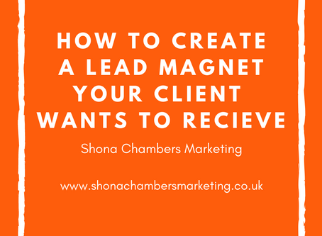 How to create a lead magnet your ideal client actually wants