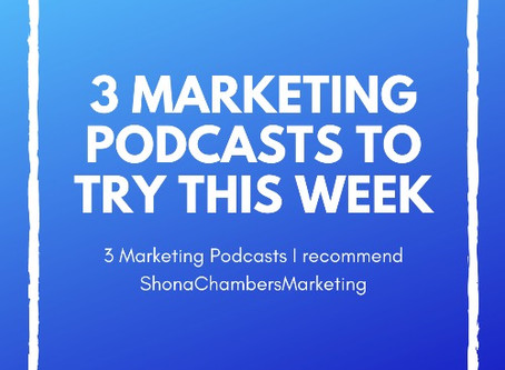 3 Marketing Podcasts that will teach you something new