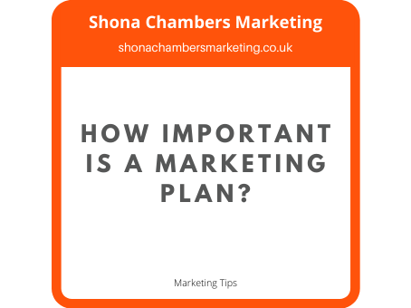 How important is a marketing plan?