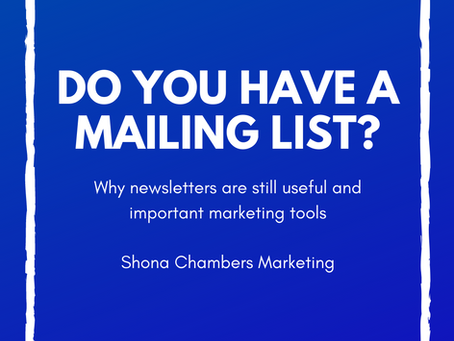 Do you have a mailing list? 10 important steps to take to launch one