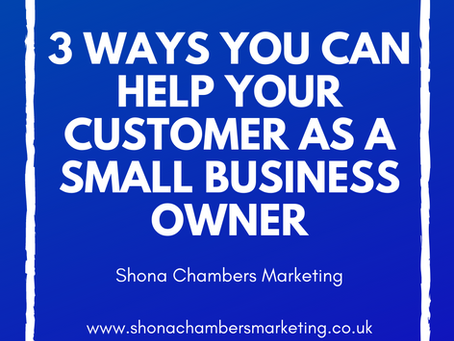 3 ways you can help your customer as a small business owner
