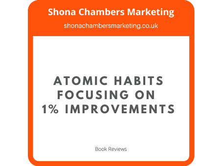Book Review: Atomic Habits James Clear. 1% better everyday