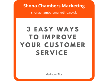 Improve your customer service today!