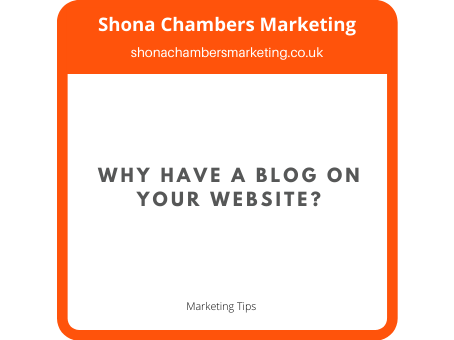 Why Have A Blog On Your Website?
