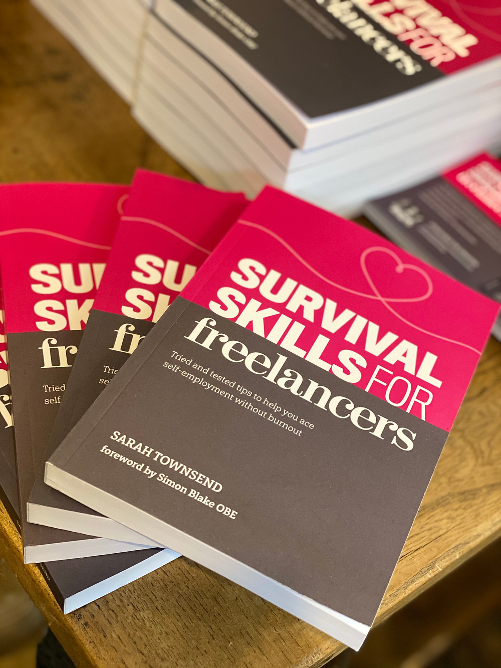 A book called Survival Skills for Freelancers by Sarah Townsend