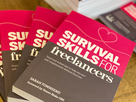 Survival Skills for Freelancers.  A conversation with Sarah Townsend