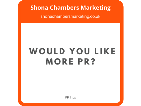 This one tip will get you lots of free PR.