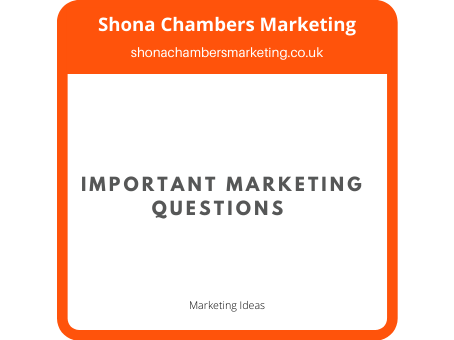 Important Marketing Questions Small Business Owners Should Ask