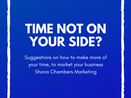 How to maintain marketing when time is short