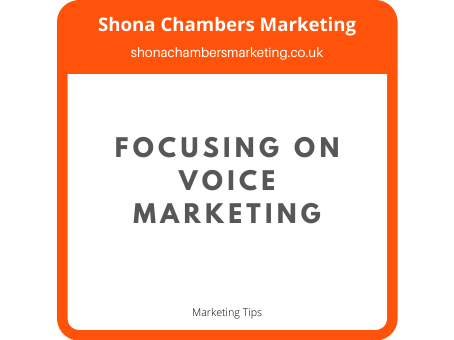 What is voice content and how will voice technology change marketing?
