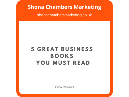5 Great Business Books You Must Read
