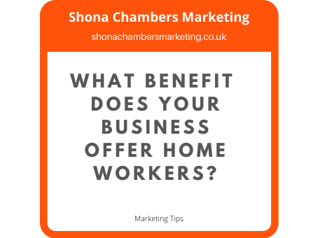 Does your business offer home workers a benefit?
