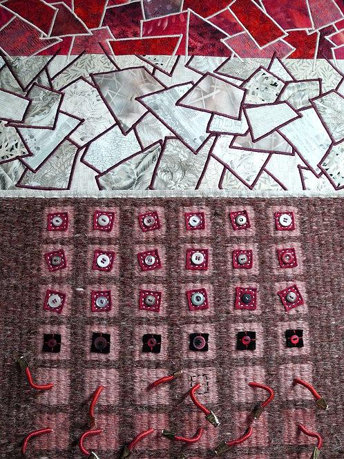 Nature's Palette No. 24, Contemporary Textile Art