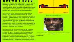 Retro-artículo (entrevista a Jonathan Harker sobre El Plomero, 2003)