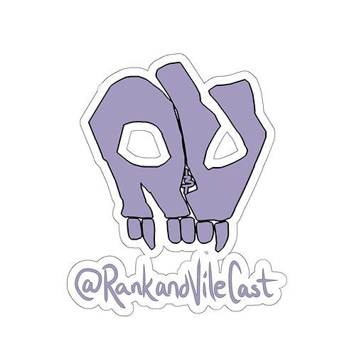 R&V Lavender Kiss-Cut Stickers