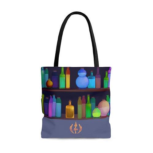 The Lavender Tavern   AOP Tote Bag