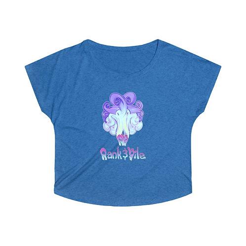 Rank & Vile Tri-Blend Dolman Shirt