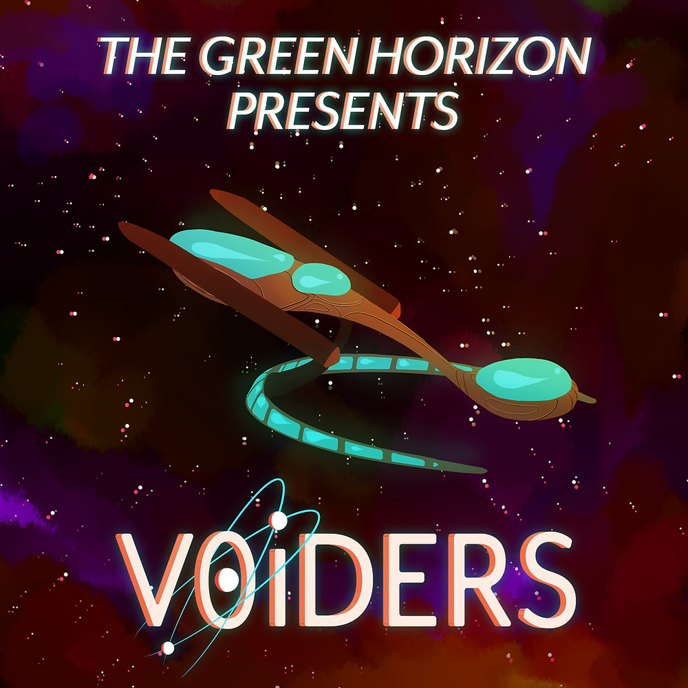 Logo: the word VOIDERS where the O has two dots orbiting it in intersecting paths